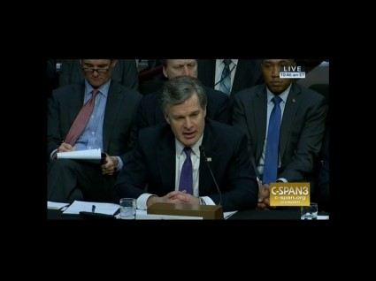 photo image FBI Director: Rob Porter's Background Check Was Completed In July