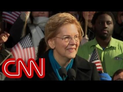 Elizabeth Warren Officially Throws Her Hat In Presidential Ring