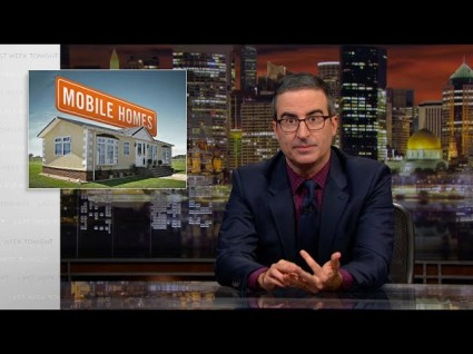 John Oliver Slams The Investors Who Made Mobile Homes Unaffordable
