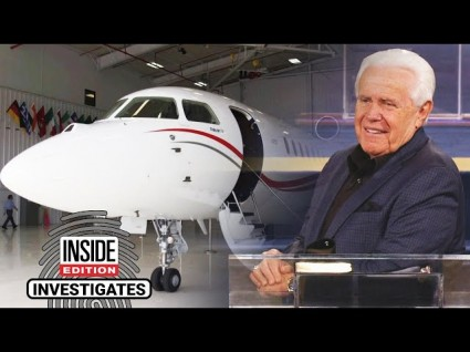 Inside Edition Corners Prosperity Preachers About Their Million-Dollar Jets