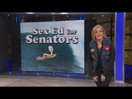 photo image Sam Bee Presents Sex Ed For Senators
