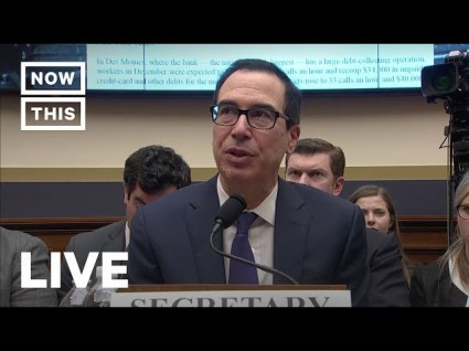 WATCH LIVE: House Financial Services Questions Steve Mnuchin