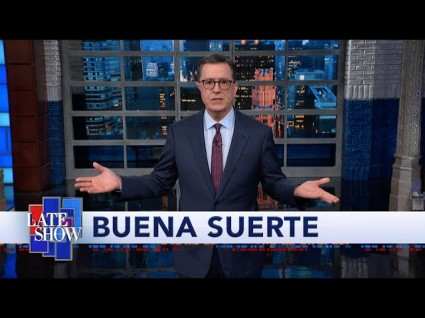 Colbert Wonders Why Trump Is 'Wooing Hispanic Voters'