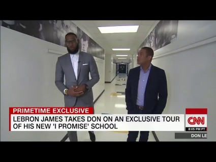 LeBron James' 'I Promise' School Delivers Results For Underprivileged Students