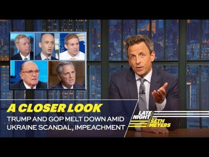 Seth Myers: 'He's Making A Scooby Sandwich Of Crime!'