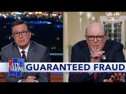 Colbert's Surprise Visitor Last Night Sets The Ukraine Record Straight