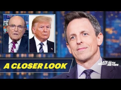 Seth Meyers Takes 'A Closer Look' At Day One Of Impeachment