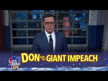Jubilant Late Night Hosts Dissect Yesterday's Impeachment Hearings