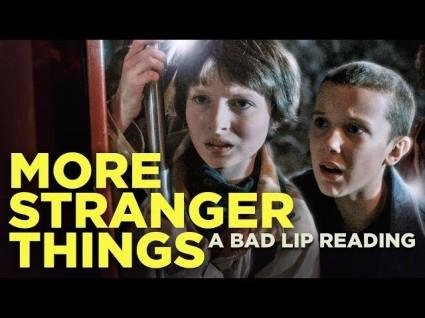 Bad Lip Reading Takes On 'Stranger Things'