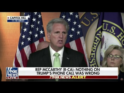Fox News Cuts Off Insane Kevin McCarthy Rant