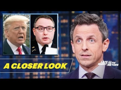 Seth Meyers Disses Jeanine Pirro And Trump's 'Weekly Therapy Rallies'
