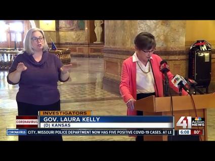 Republican Legislators In Kansas Overturn Governor's Executive Order On Church Gatherings