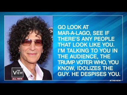 Howard Stern Unloads On Trump Supporters: 'The People Trump Despises Most, Love Him The Most'