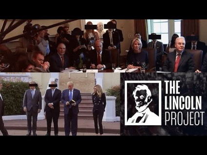 The Lincoln Project's New Ad Plays On Trump's Paranoia