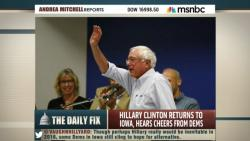 MSNBC Pundits Dismiss Sanders Early Show Of Support At Townhall In Iowa