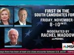 Rachel Maddow Chosen To Moderate Democratic Candidates' Forum In South Carolina