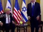 At Appearance With Netanyahu, Did A Dazed Trump Forget Where He Is?