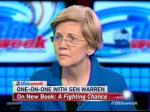 ABC's Stephanopoulos Makes Elizabeth Warren Interview All About Hillary