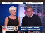 Joe Scarborough Angers Mika By Defending Marco Rubio's Climate Change Denials