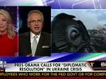 Fox News' Ralph Peters Hyperventilates Over Flight M-17: 'Obama Is Scared Of Vladimir Putin'