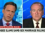 Huckabee: 'Redefinition Of Love' Threatens Marriage