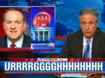 Jon Stewart Makes A Mockery Of Huckabee Without Saying A Word