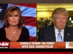 Palin Interviews Trump