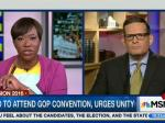 Joy Reid Shows How To Interview A Reluctant Trump Republican