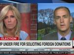 CNN Forces Lewandowski To Give Bogus Excuses For Trump's Foreign Email Fundraising Scheme