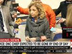 Debbie Wasserman-Schultz Expected To Be Out By The End Of The Day