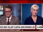 Hillary Clinton Phone In Interview With Morning Joe