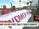 Florida Trump Supporter Screams At CNN Reporter: 'Get Out!'