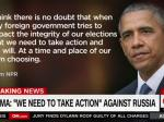 President Obama Promises Russia There Will Be Retaliation