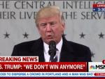 Donald Trump's Bizarre CIA Speech
