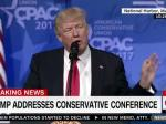 Trump Attacks Media In CPAC Speech, Claims 'Fake News Is Enemy Of The People'
