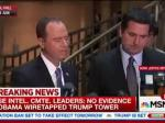 BREAKING:  House Intelligence  Says 'No Evidence' On Trump Wiretap Claims