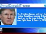 Trump Bashes Freedom Caucus, Rep. Jordan Responds