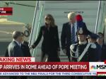 Melania Swats Donald Away, Part II