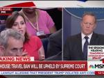 NBC Reporter Asks Spicer Why Trump Is Holding Back Evidence Comey Lied