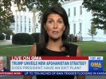 U.S. Ambassador Nikki Haley Can't Define What 'Winning' In Afghanistan Means