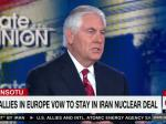 Rex Tillerson Tells CNN He Wants To Stay In Iran Nuclear Deal