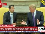 Trump Rates Himself A Perfect '10' For Puerto Rico's Hurricane Response