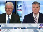 Hannity Brings On Serial Adulterer Newt Gingrich To Discuss Sexual Harassment