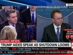 OMB's Mulvaney Blames Democrats For Possible Government Shutdown