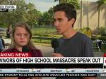 School Shooting Survivor: 'There's Something Seriously Wrong Here'