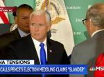 Pence Participates In Trump-Russia Cover Up By Blaming China