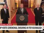 Trump Makes A Mockery Out Of Kavanaugh Swearing-In Ceremony