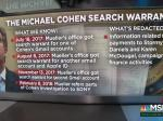 Warrants On Cohen Released; Investigation Started July 2017