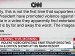Gory 'Parody' Clip Shown At Pro-Trump Conference Shows Him Slaughtering Media