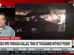 Powerful Tornado Hits The City Of Dallas Last Night; No Deaths Reported